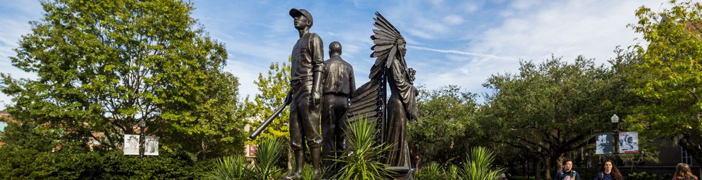 Image of Integration statue on FSU campus