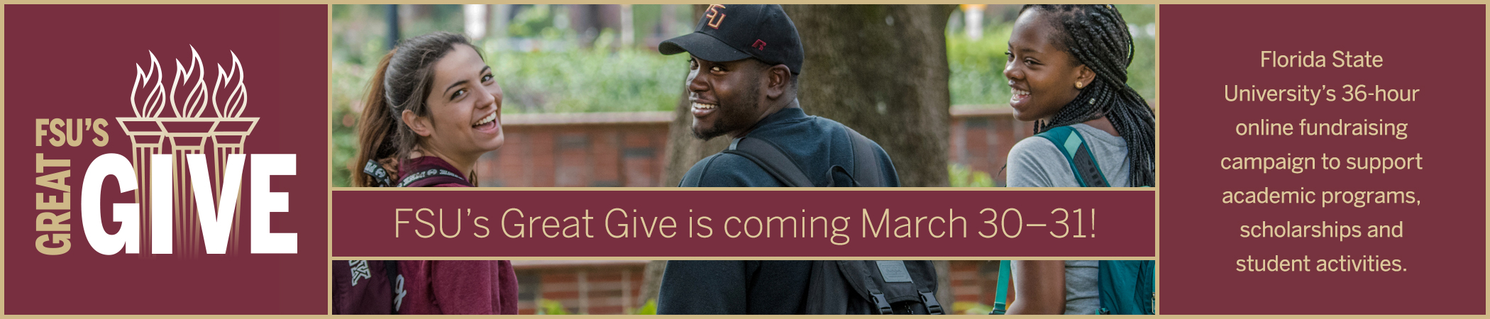 FSU's Great Give is coming!