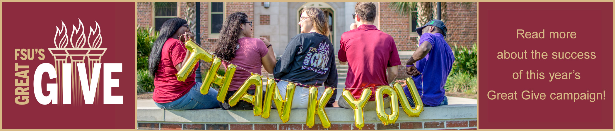 FSU's Great Give is a 36-hour online fundraising campaign