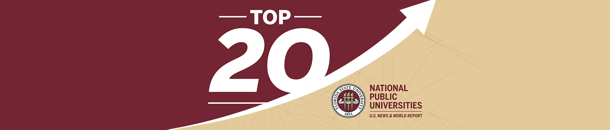Top 20 of National Public Universities in U.S. News & World Report