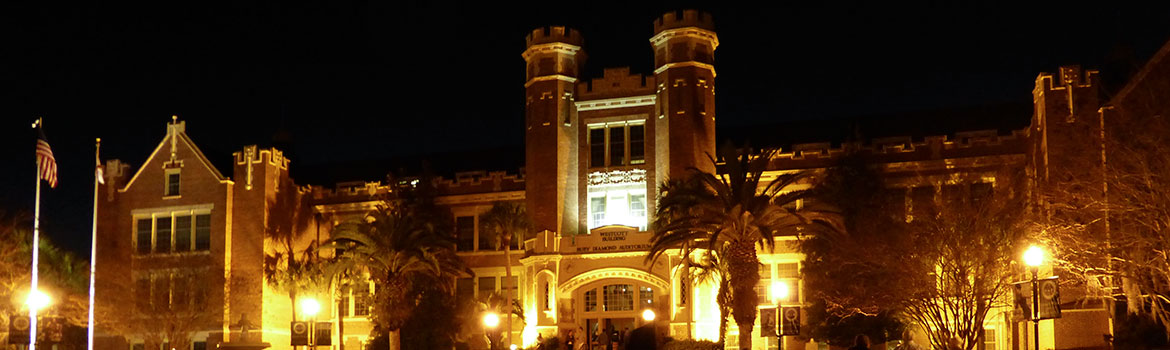 Image of Westcott Building at night