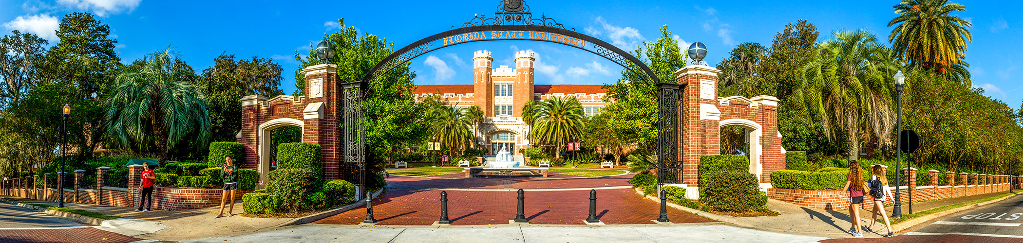 Entrance to Florida State University