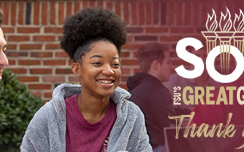 FSU's Great Give SOS: Thank you!