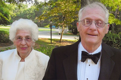 Photo of FSU professors Charles and Persis Rockwood