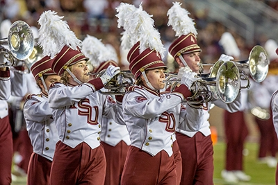 Photo of Marching Chiefs Performing
