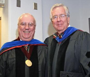 Professors Jay Rayburn and Gary Heald