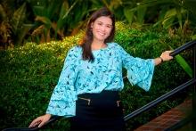 Photo of Sabrina Mato smiling