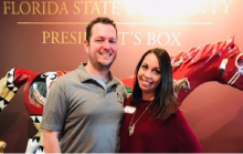 jim and Kelly Flannery at FSU Events